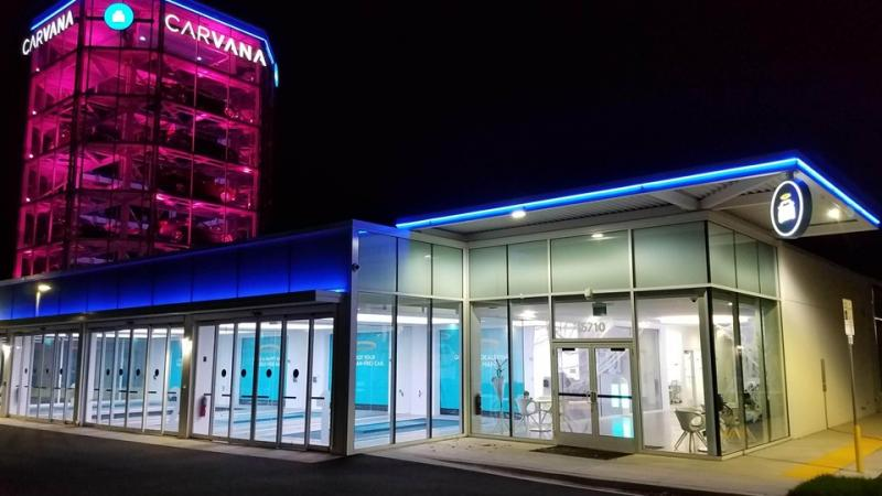 Carvana. Come for the Experience
